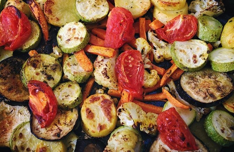 Вкусные овощи в духовке рецепт фото