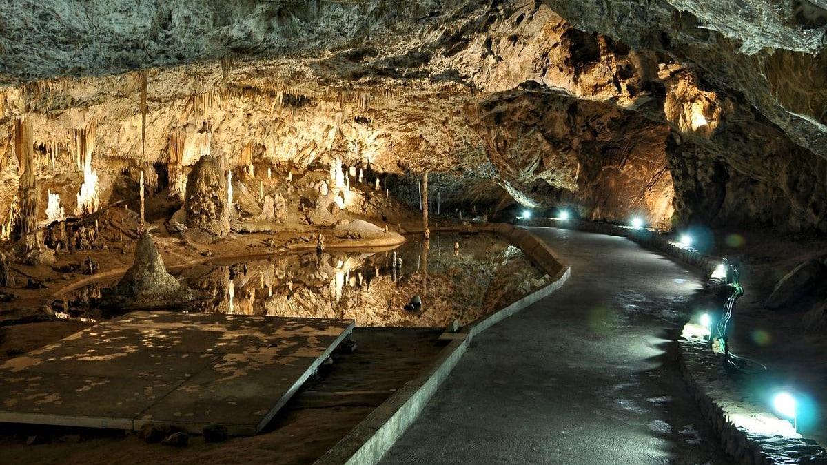 CHKO Český kras - jeskyně