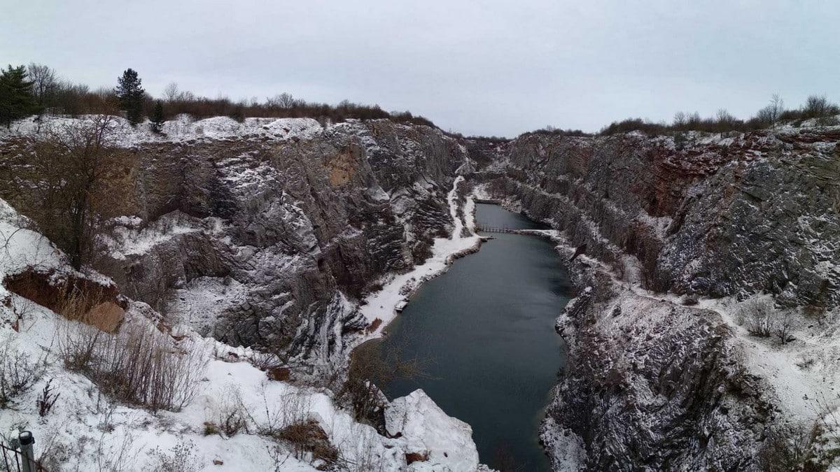 CHKO Český kras - zima