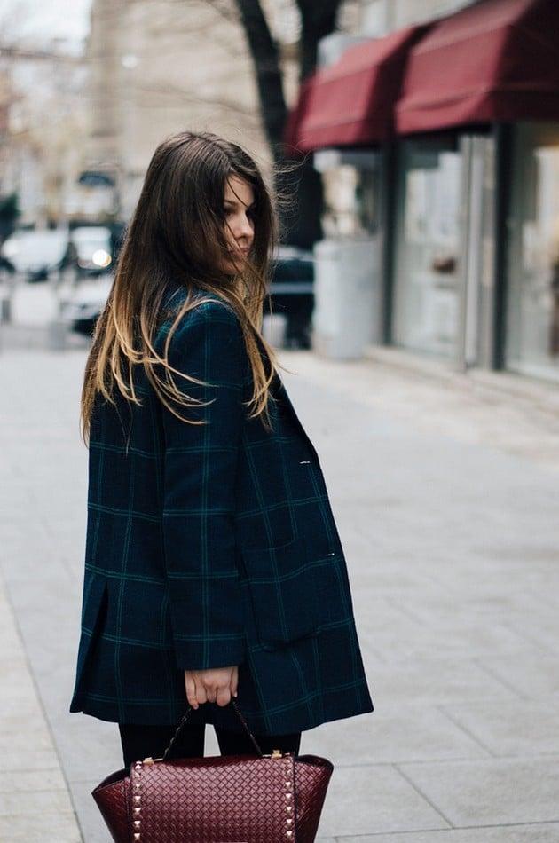 Dámská móda - kabát