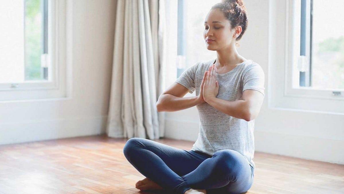 Dechové cvičení - jóga