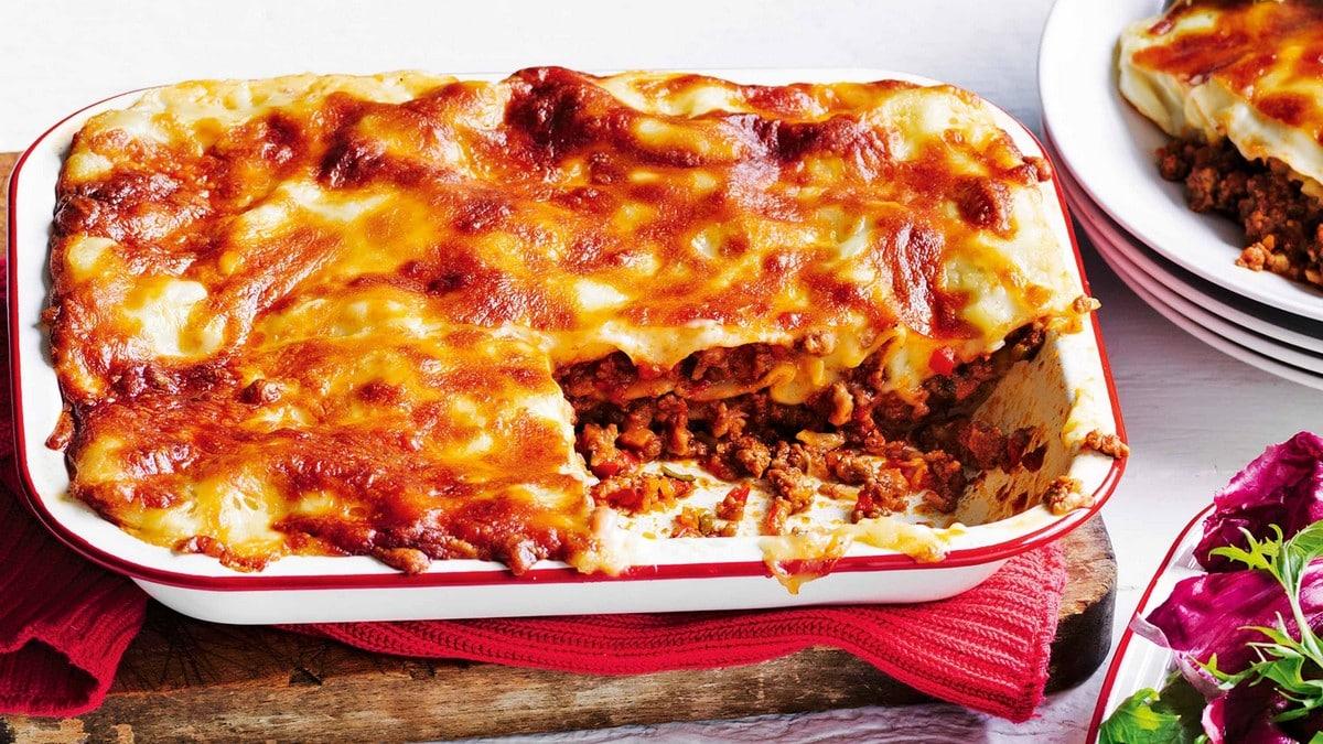 Recept na lasagne s mletým masem