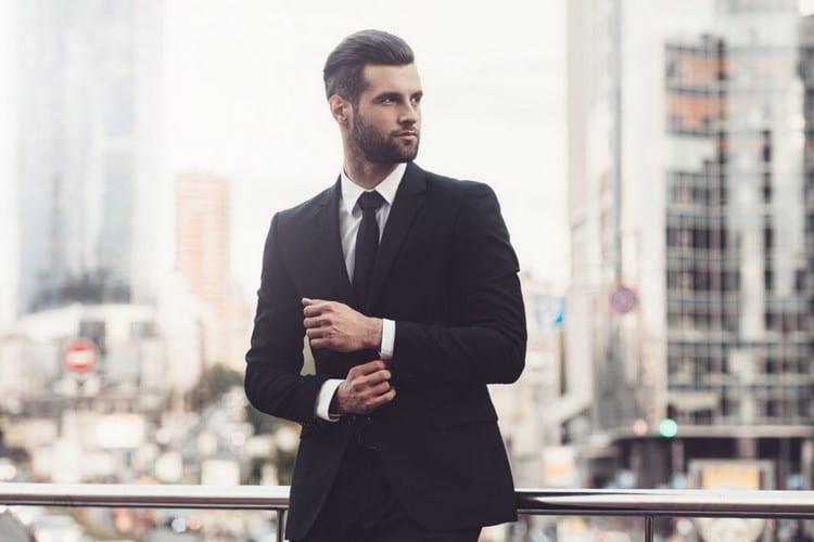 Muž - móda - oblek