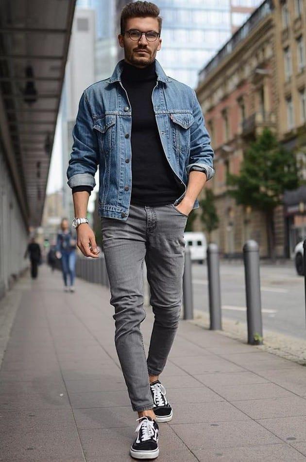 Muži - móda - upnuté kalhoty