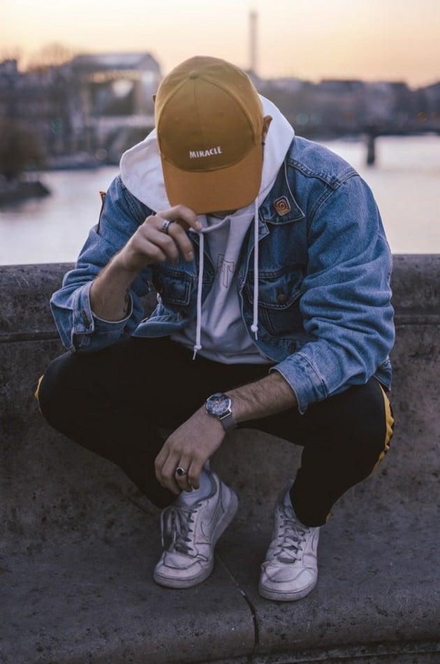 Pánská móda - volný styl