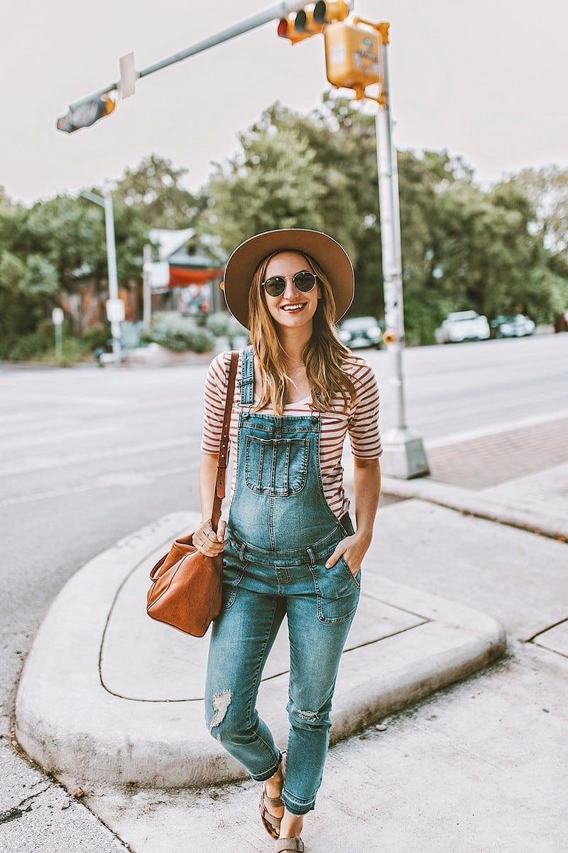 Těhotenská móda - lacláče